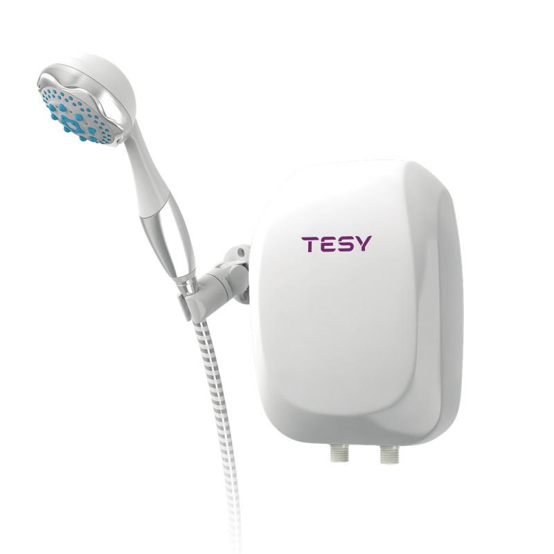 Электрический проточный водонагреватель TESY с душевой лейкой 5,0 кВт (IWH 50 X02 BA H) теси тези