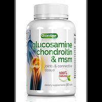 Глюкозамин хондроитин МСМ Quamtra  Glucosamine Condroitin MSM 90 tab