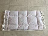 Бортик / захист в дитяче ліжечко / бортик защита в кроватку 59 * 33 см білий кант, фото 2