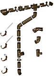 Хомут крепления трубы метал. 160 DEVOREX CLASSIC 120 коричневый, фото 2