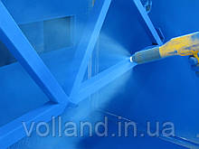 Порошковая покраска крупногабаритных металлических изделий в покрасочной камере (6850х1000х2800)