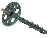 Дюбель LI-M 10х110 с металлическим гвоздем (100 шт)  , фото 2