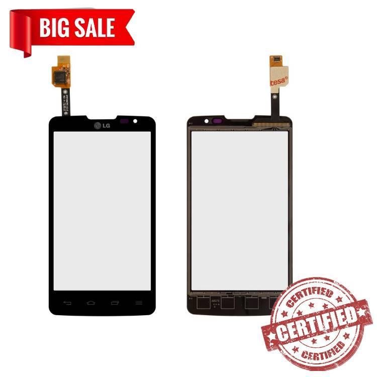 Сенсор (тачскрін) для LG X135 L60i Dual, X145 L60 Dual чорний