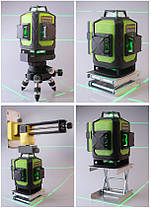 Лазерный уровень 4D Fukuda MW-94D-4GX Diod Osram, фото 3