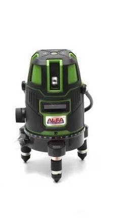 Лазерный уровень, нивелир с аккумулятором AL-FA WOSAI, фото 2