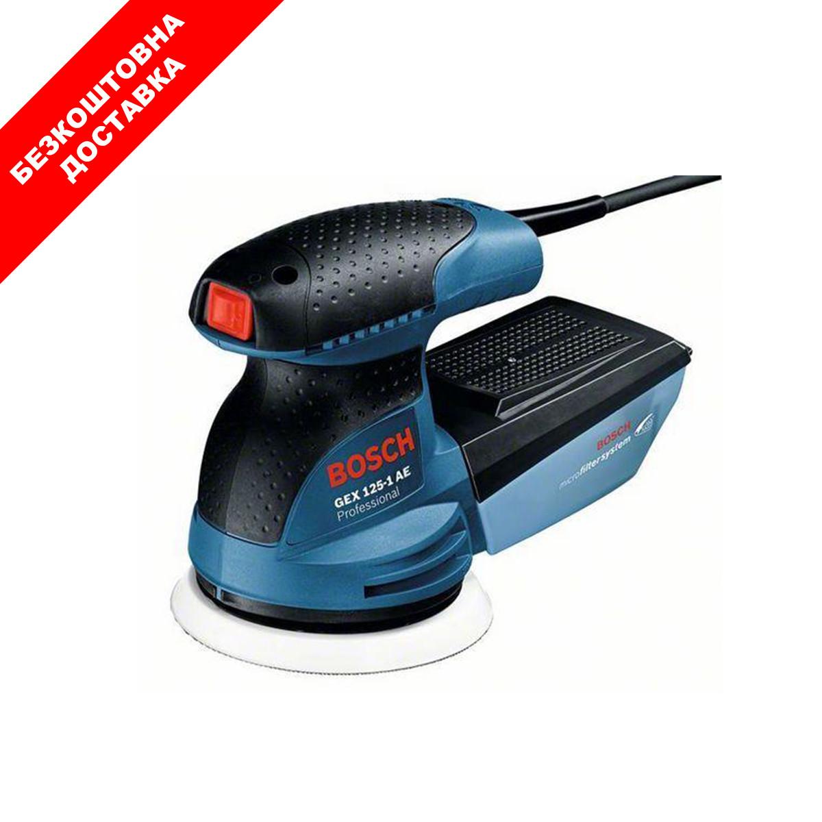 Вібраційна шліфмашина Bosch GEX 125-1 AE (0601387501)