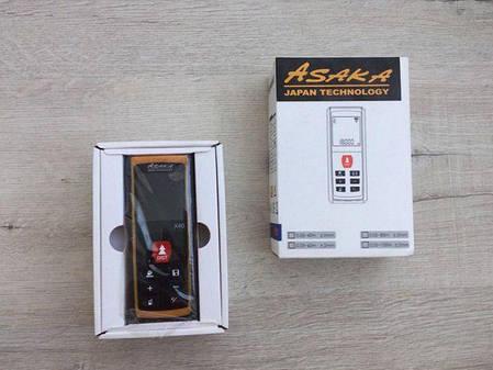 Лазерный дальномер рулетка ASAKA X40, фото 2