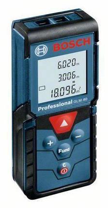 Лазерный дальномер Bosch GLM40 Professional, фото 2