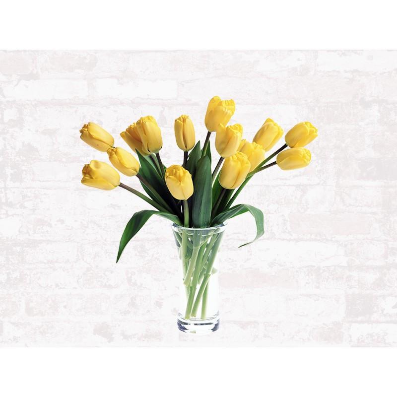 "Наклейка ""Жовті тюльпани"""
