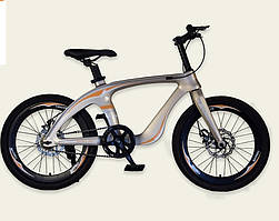 Велосипед, 2-х колесный, ЗОЛОТО, рама из магниевого сплава, подножка, M20410