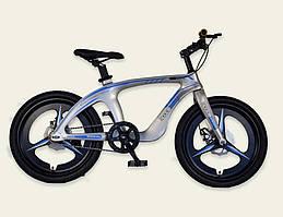 Велосипед, 2-х колесный, CЕРЕБРО, рама из магниевого сплава, ручные тормоза, M20302