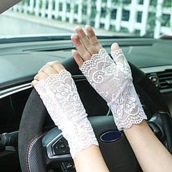 Мереживні мітенки кружевные митенки перчатки