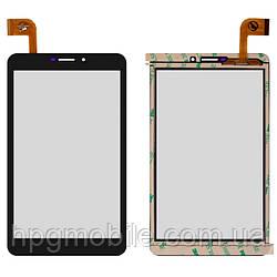 """Сенсорный экран для Nomi Corsa 7"""" 3G C070010, 183 X 108 мм, 51 pin, емкостный, оригинал Черный"""