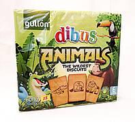 Бисквитное печенье GullonDibus Animals 600 gramm