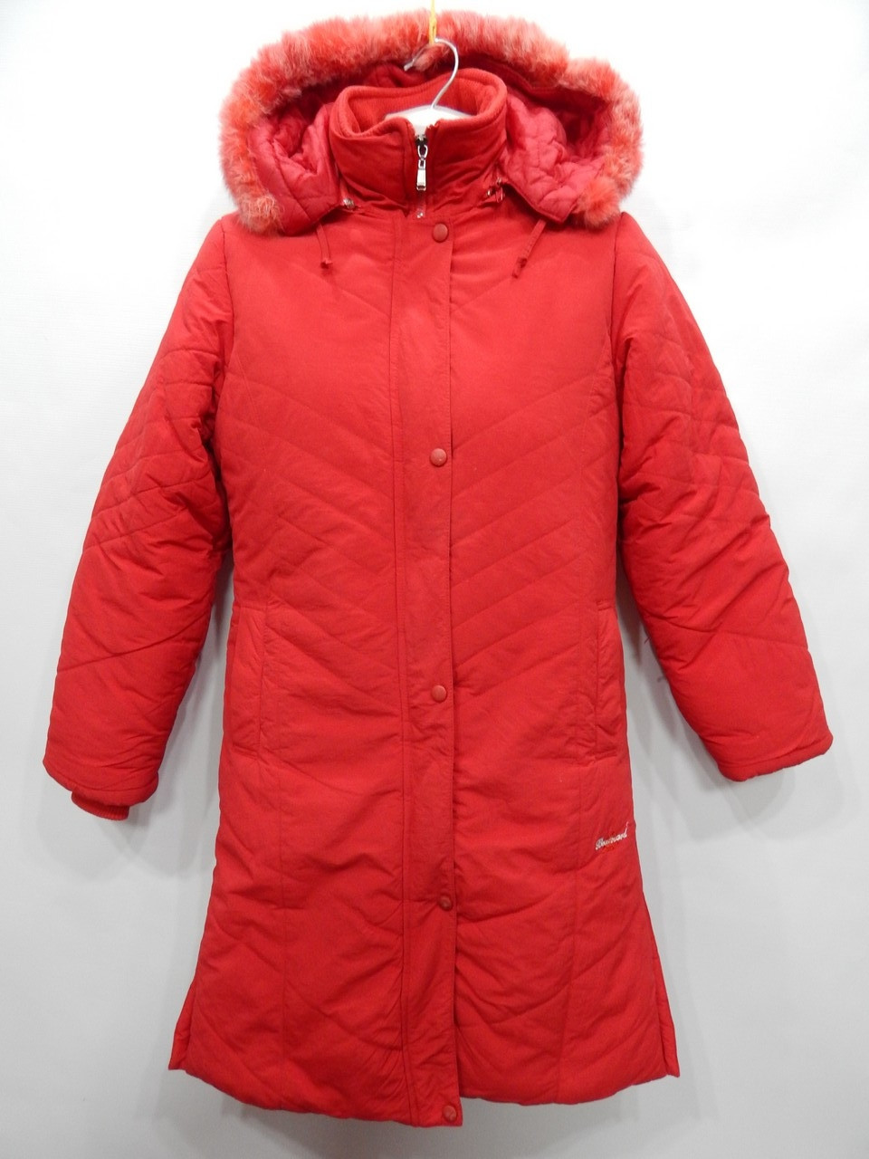 Куртка - пальто  женская теплая с капюшоном BOULEVARD  р.44-46 053GK