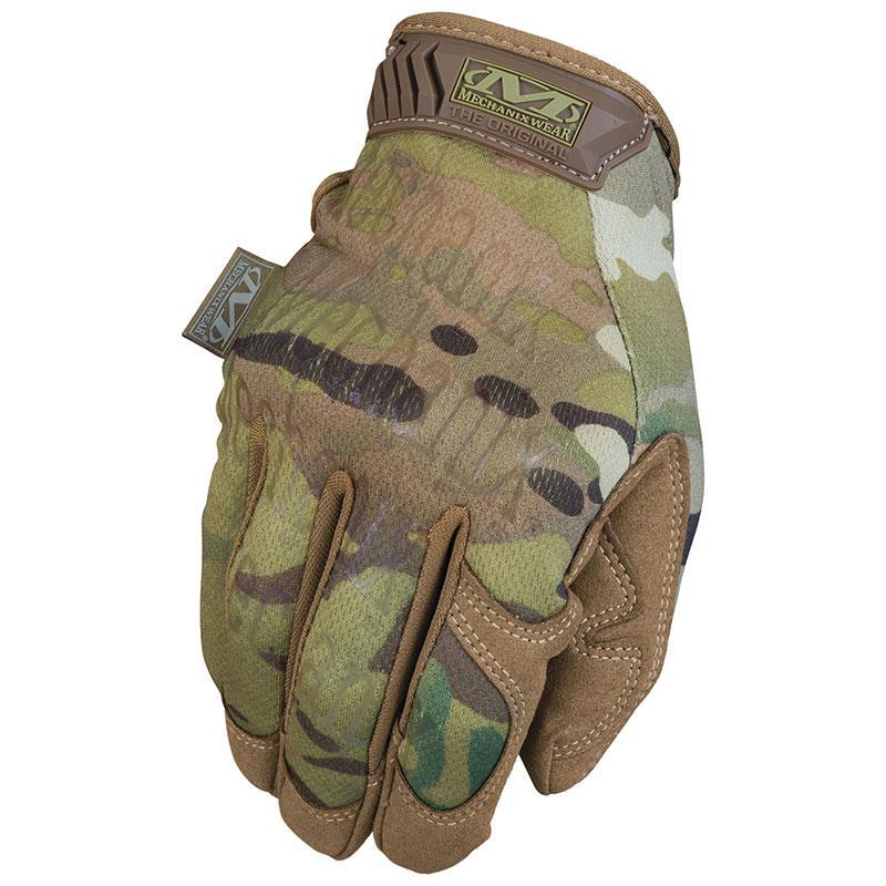 Оригинал Тактические мультикам перчатки тачскрин сенсорные Mechanix MultiCam® Original MG-78 Large, Crye Precision MULTICAM