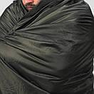 Оригинал Компактное антибактериальное одеяло Snugpak JUNGLE BLANKET 9224 Олива (Olive), фото 2