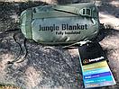Оригинал Компактное антибактериальное одеяло Snugpak JUNGLE BLANKET 9224 Олива (Olive), фото 8