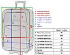 Чемодан дорожній на колесах Bonro Style середній валіза, фото 10
