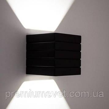 Світильник гіпсовий, бра NORWICH S1807 В BK G9 40Вт чорний