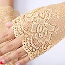 Мереживні мітенки кружевные митенки перчатки, фото 2