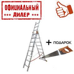 Лестница BUDFIX 1407 (3 секции, 7 ступеней)
