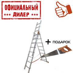 Лестница BUDFIX 1408 (3 секции, 8 ступеней)