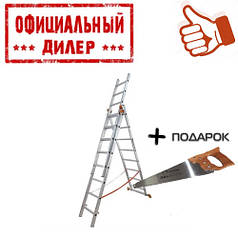 Лестница Budfix 1409 (3 секции, 9 ступеней)