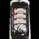 Электрический мопед  CITY gy-4 500W/48V/20AH(DZM) (серо-голубой), фото 5