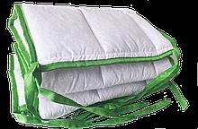 Бортик / захист в дитяче ліжечко / бортик защита в кроватку 120 * 33 см зелений кант