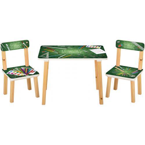 Детский стол с двумя стульчиками (501-86)