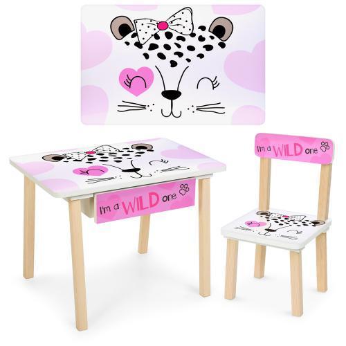 Детский стол со стульчиком Bambi (803-1)