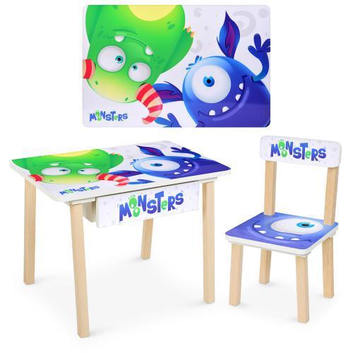 Детский стол со стульчиком Bambi (803-4)