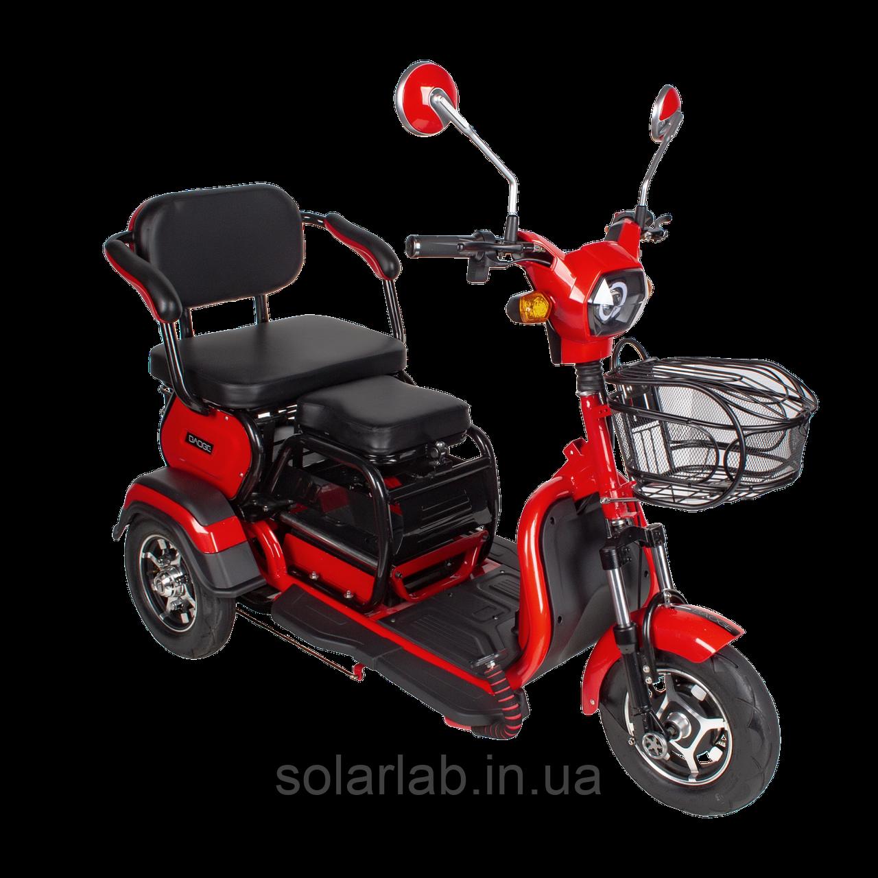 Электрический мопед  AGAMI xk 500W/48V/20AH(GL) (красный)
