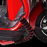 Электрический мопед  AGAMI xk 500W/48V/20AH(GL) (красный), фото 3