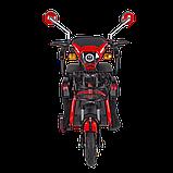 Электрический мопед  AGAMI xk 500W/48V/20AH(GL) (красный), фото 4