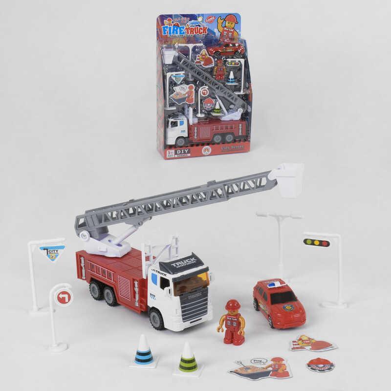 Детский игровой набор спецтехники (3389-34 B)