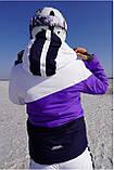 Женская горнолыжная куртка FREEVER  фиолетовая, фото 2