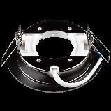 Встраиваемый светильник Ilumia под лампу GX53, Черный, 105мм (050), фото 2