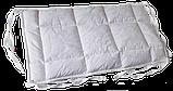Комплект бортиків / захист в дитяче ліжечко / комплект бортиков 120 * 33 см та 59*33 см білий кант, фото 5
