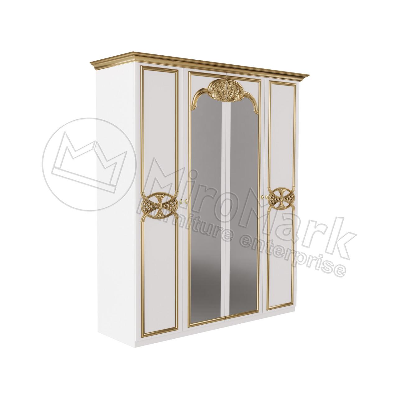 """Шкаф 4Д Ева от """"Миро-Марк"""""""