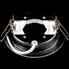 Вбудований світильник Ilumia під лампу GX53, Зістарена латунь, 105мм (052), фото 2