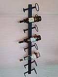 Подставка  для вина настенная, фото 3
