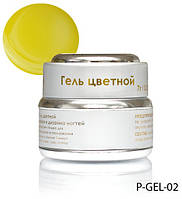 Перламутровый гель лимонного цвета Lady Victory LDV P-GEL-02 /0-2