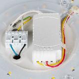 Светодиодный светильник с эффектом страз Ilumia 24Вт, 2800K-6000К (все температуры света), 2000 Лм (068), фото 5
