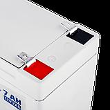 Аккумулятор мультигелевый AGM LogicPower LPM-MG 12 - 7 AH, фото 3