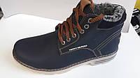 Мужские кожаные ботинки TOMMY HILFIGER