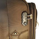 Комплект тканевых чемоданов Kaiman 2 колеса, фото 3