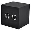 Настільні Стильні годинник VST-869-6 з білою підсвіткою, фото 2