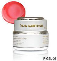 Розовый перламутровый гель Lady Victory LDV P-GEL-05 /0-2